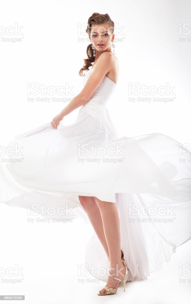 Portrait of a woman. stock photo