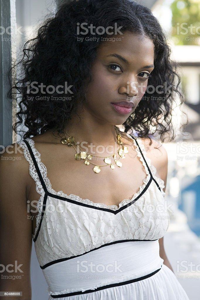 인물 사진 여자 royalty-free 스톡 사진