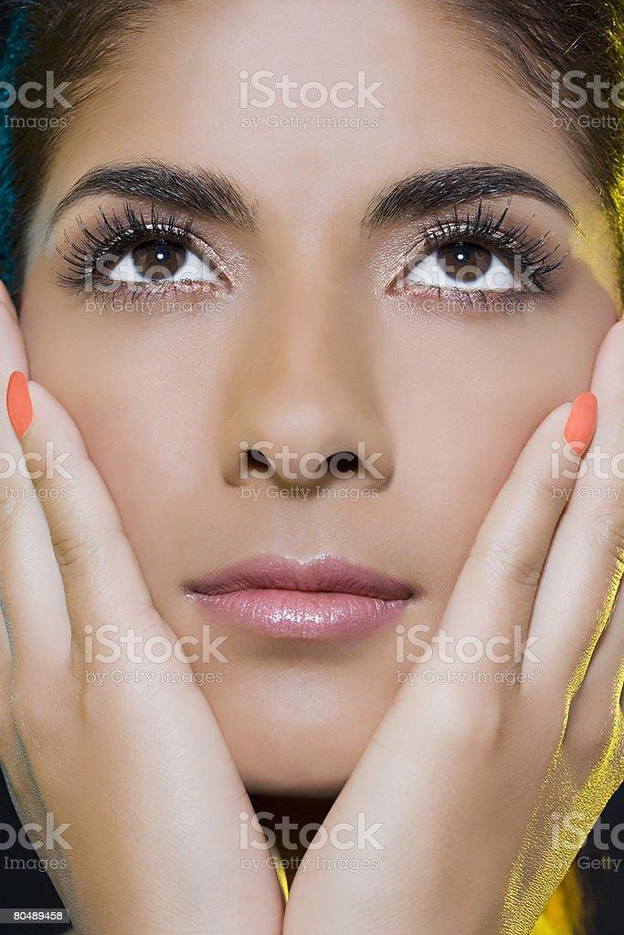 Porträt einer Frau Lizenzfreies stock-foto
