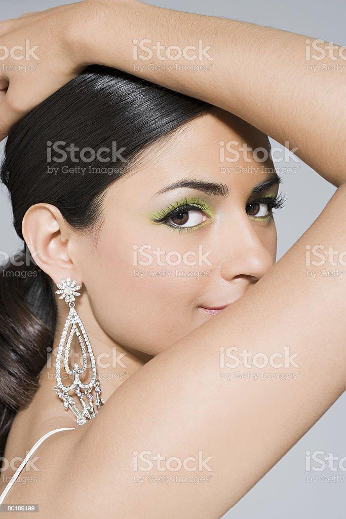 Portrait of a woman 免版稅 stock photo