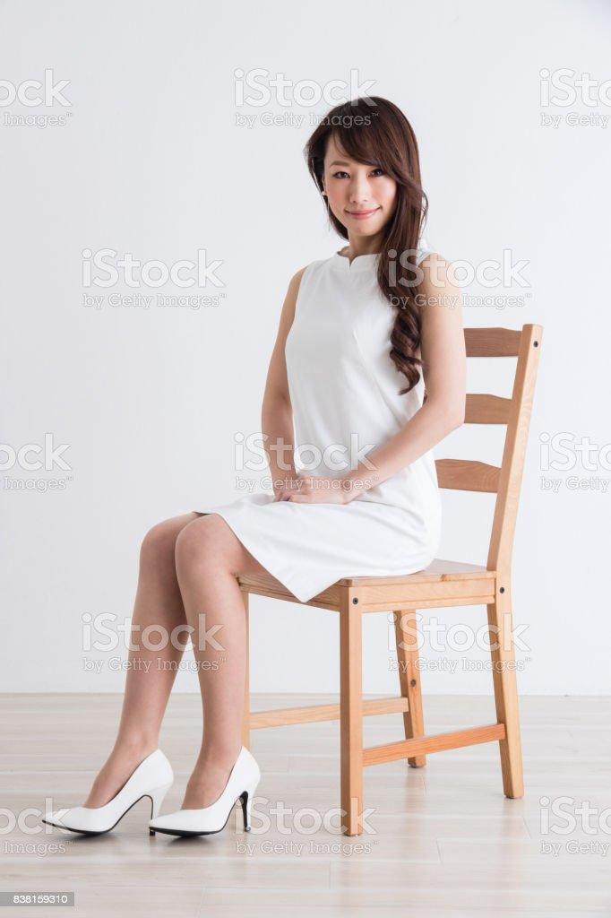 女性のポートレート ストックフォト