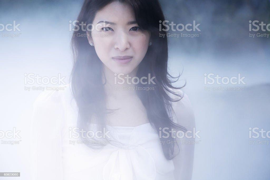 portrait of a woman royalty free stockfoto