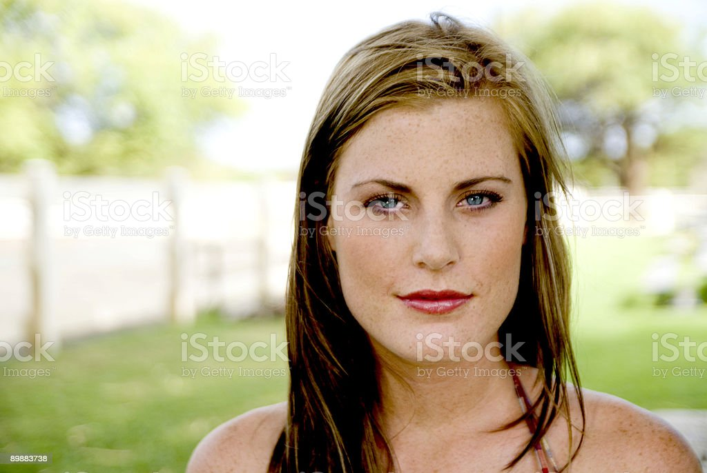 Portrait of a Woman royalty-free stock photo