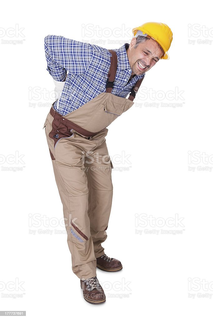 Image result for back pain construction workers