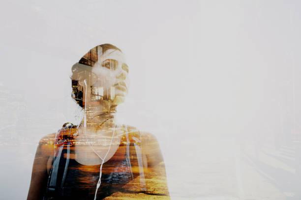 Portrait d'un voyageur du monde - Photo