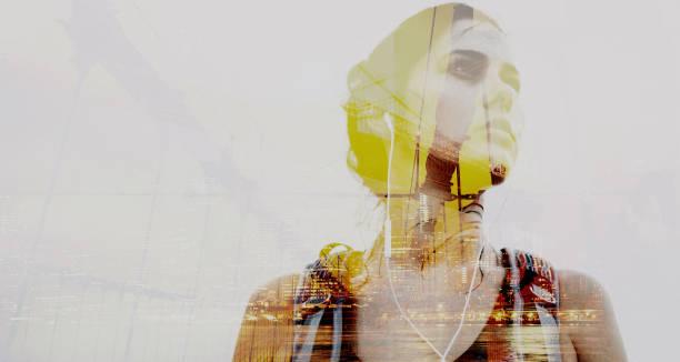 Porträt von Weltreisender – Foto
