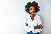 istock Portrait of a young African ethnicity businesswoman. 1276386803