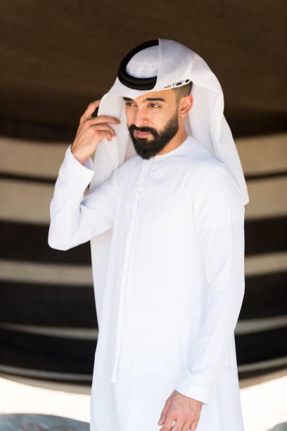 Portrait d'un jeune homme arab - Photo