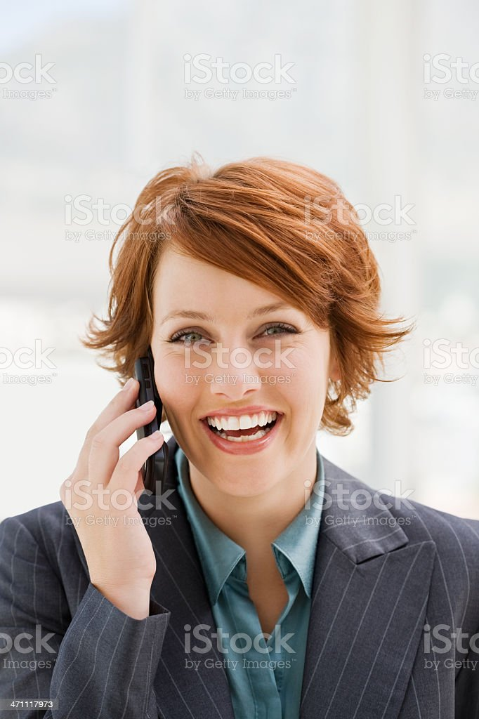 Portrait of a young businesswoman royalty-free stock photo