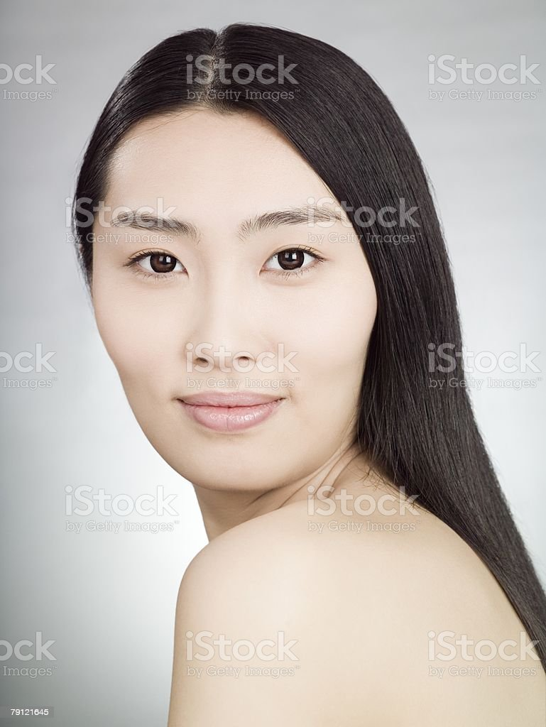 Portrait of a young Chinese woman 免版稅 stock photo