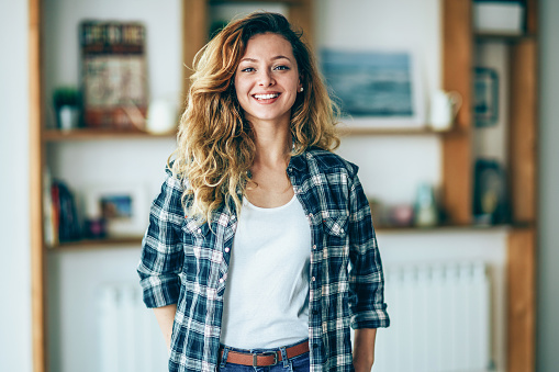 590241864 istock photo Portrait of a young confident woman 1199100426