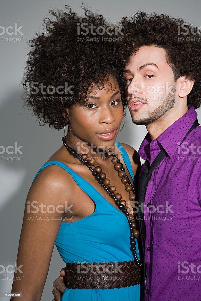 젊은 커플입니다 인물 royalty-free 스톡 사진