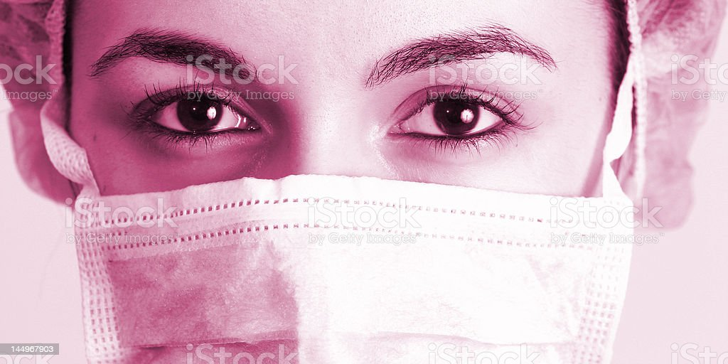 Portrait of a young doctor! royalty-free stock photo