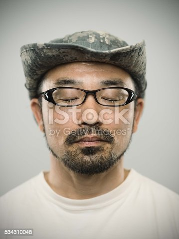 istock Portrait of a young japanese man with relaxed expression 534310048