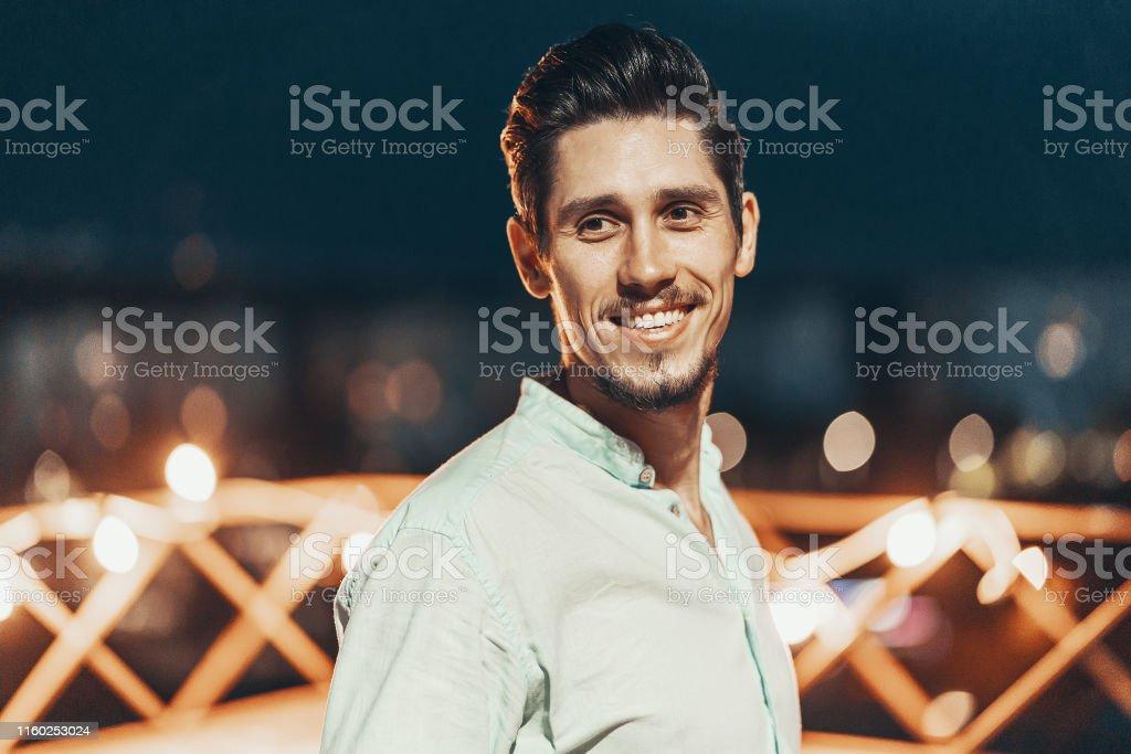 Portret van een jonge man - Royalty-free Abstract Stockfoto