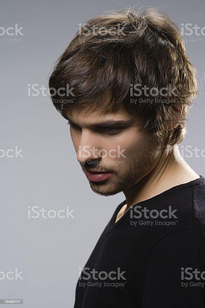 Retrato de um Homem Jovem foto de stock royalty-free