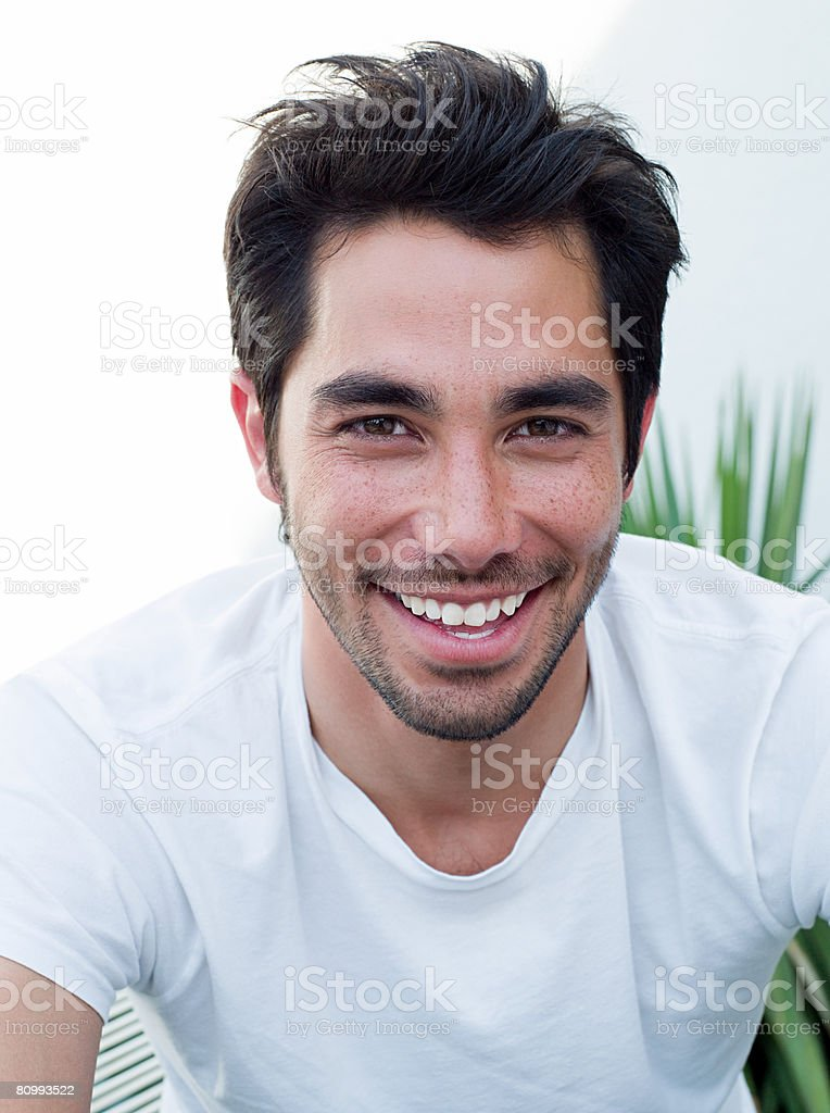 Portrait of a young man 免版稅 stock photo