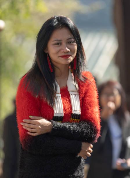 Portrait of a young naga lady during hornbill festivalnagalandindia picture id1187839962?b=1&k=6&m=1187839962&s=612x612&w=0&h=dwxarsngydil43jn2czg2uvswtemdjjkrg1vfk4vvqw=