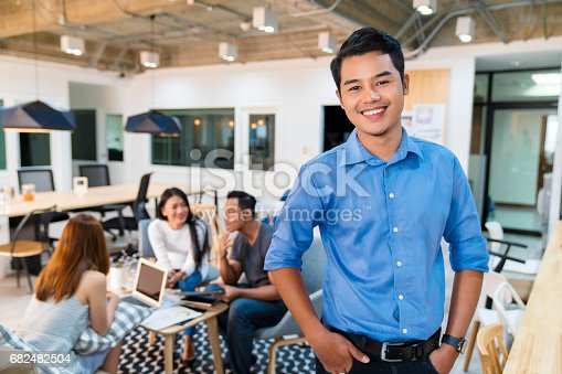 istock Portrait of a young office worker 682482504