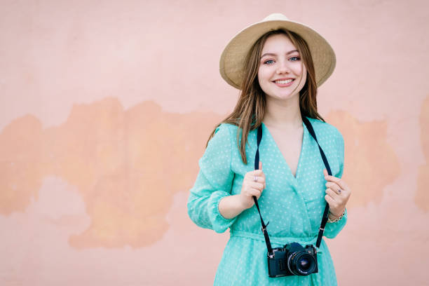 Portrait of a young photographer