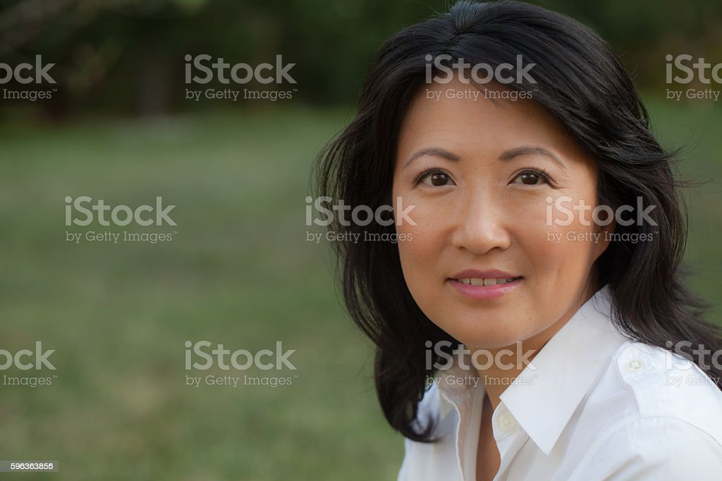 Portrait of a young professional woman of East Asian ethnicity