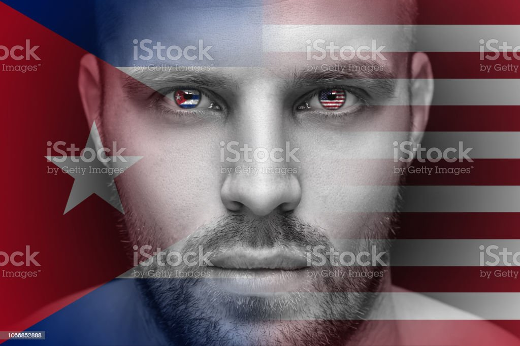 Portrait of a young serious man stock photo