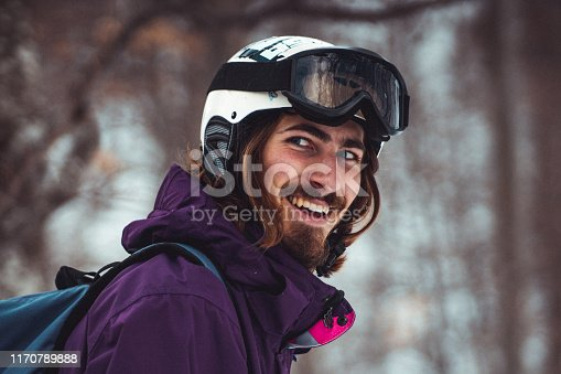 Snowboarding, Human Face, Scarf, Adult, Adults Only