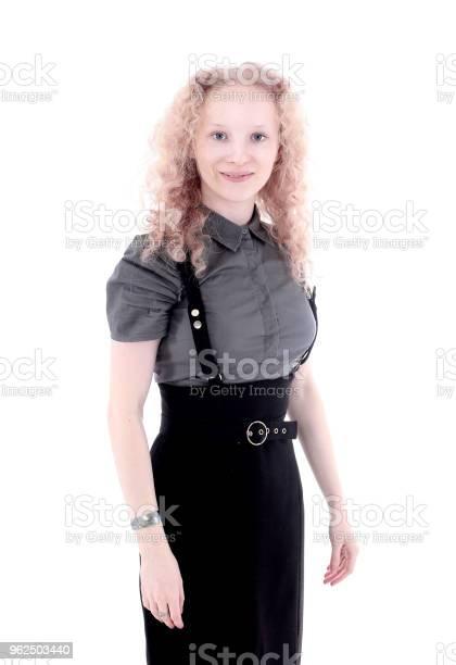 Foto de Retrato De Um Jovem Funcionário Isolated Em Branco e mais fotos de stock de Adulto