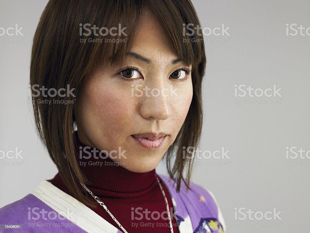 Portrait of a young woman foto de stock royalty-free