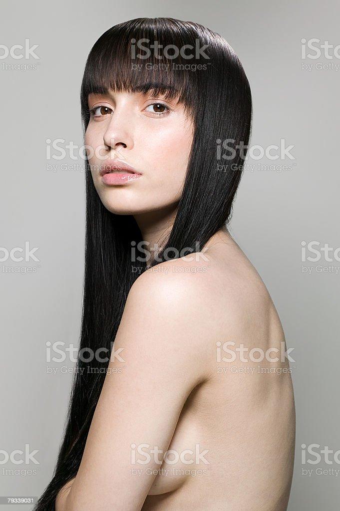 Porträt von eine junge Frau Lizenzfreies stock-foto