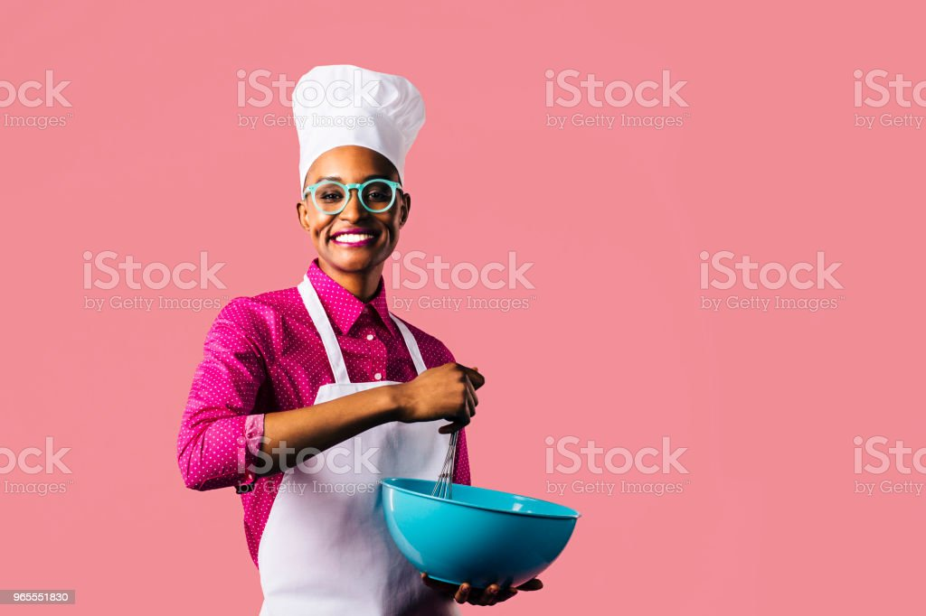 Portrait of a young woman with hat and glasses stock photo