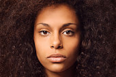 istock Portrait of african american teenage girl 528712235