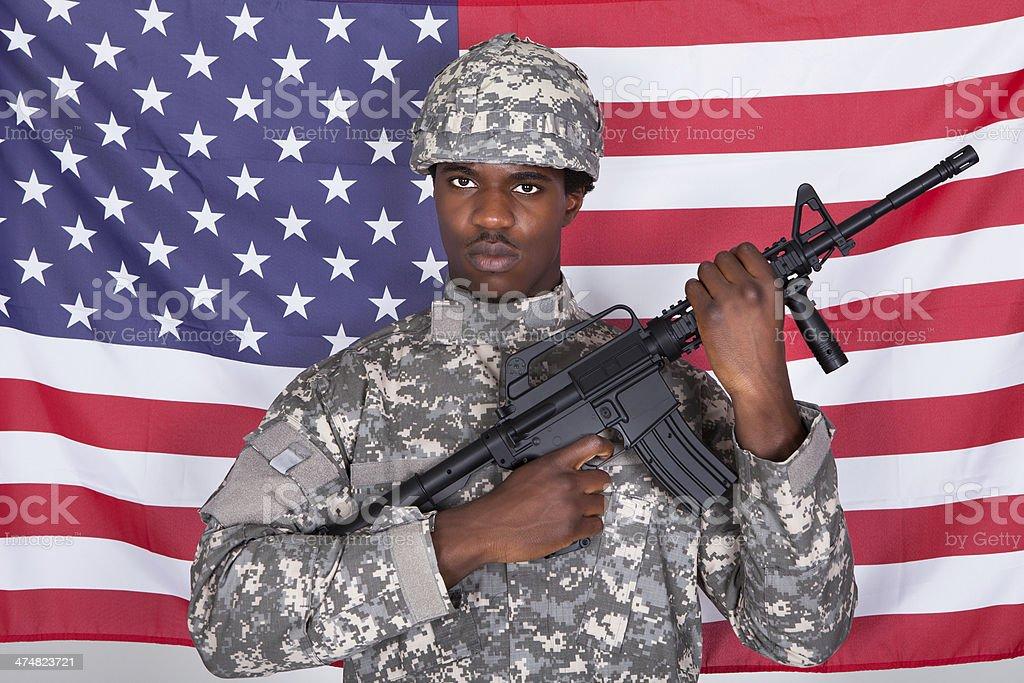 Soldaten Frisur