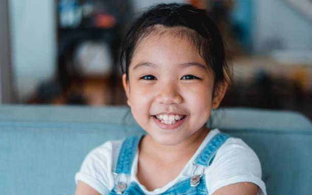 Porträt eines entzückenden chinesische Mädchen – Foto