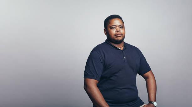 Porträt eines afroamerikanischen Mannes – Foto