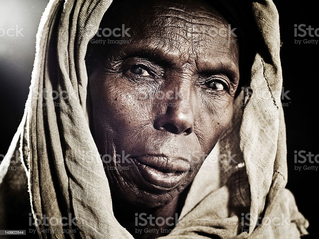 Portrait of an African Woman royalty-free stock photo