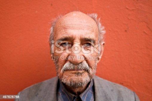 istock Portrait of an Alzheimer's Patient 497628788