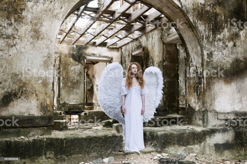 Portrait of an angel royalty-free stock photo