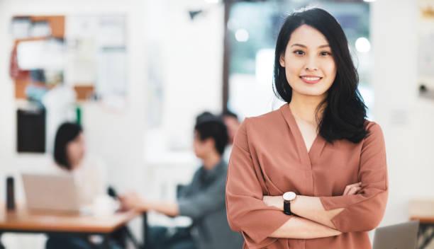 Porträt einer asiatischen Geschäftsfrau – Foto
