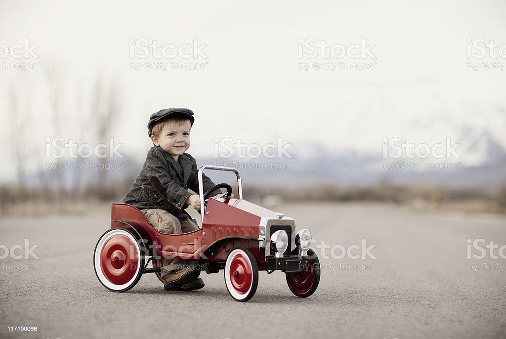 Portrait of an Auto Enthusiast stock photo
