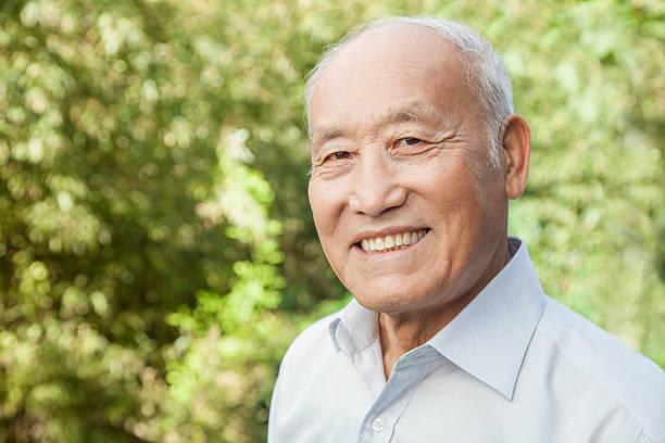 Porträt eines älteren Mannes – Foto