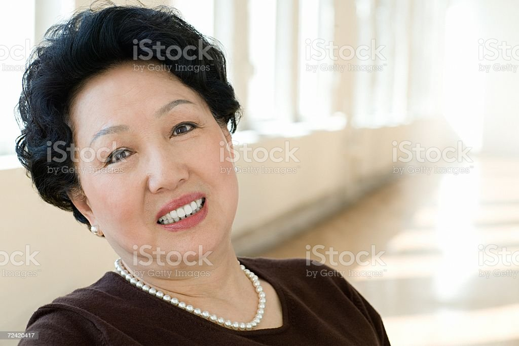 Portrait of an elegant woman royalty-free stock photo