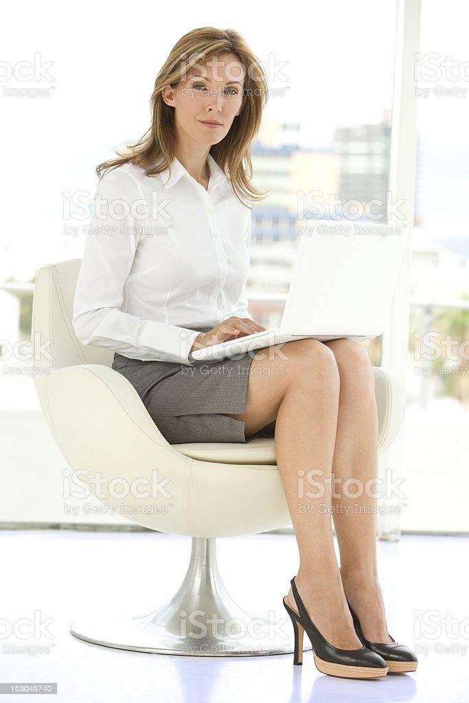 Portrait of an executive woman stock photo