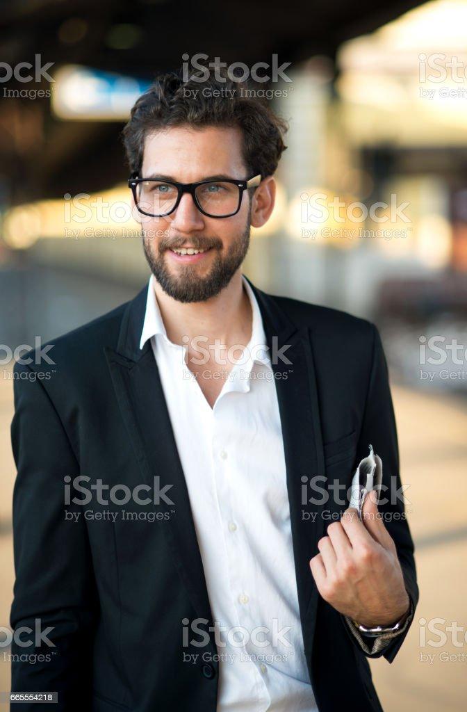 Meterosexual man