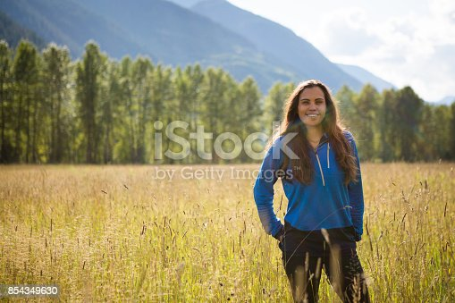 istock Portrait of an Indigenous Canadian in the field 854349630