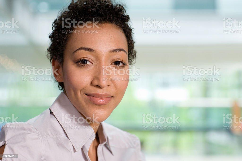 Porträt ein Büroangestellter Lizenzfreies stock-foto