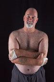 istock Portrait Of An Old Bareknuckle Champion 167762886