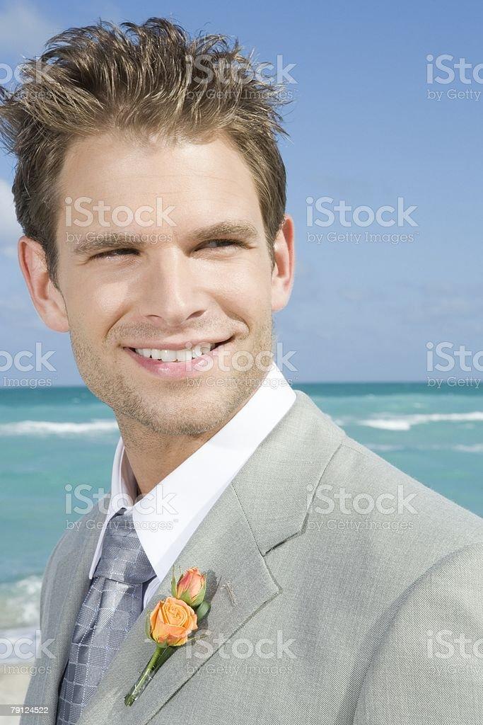 Portrait of an usher 免版稅 stock photo