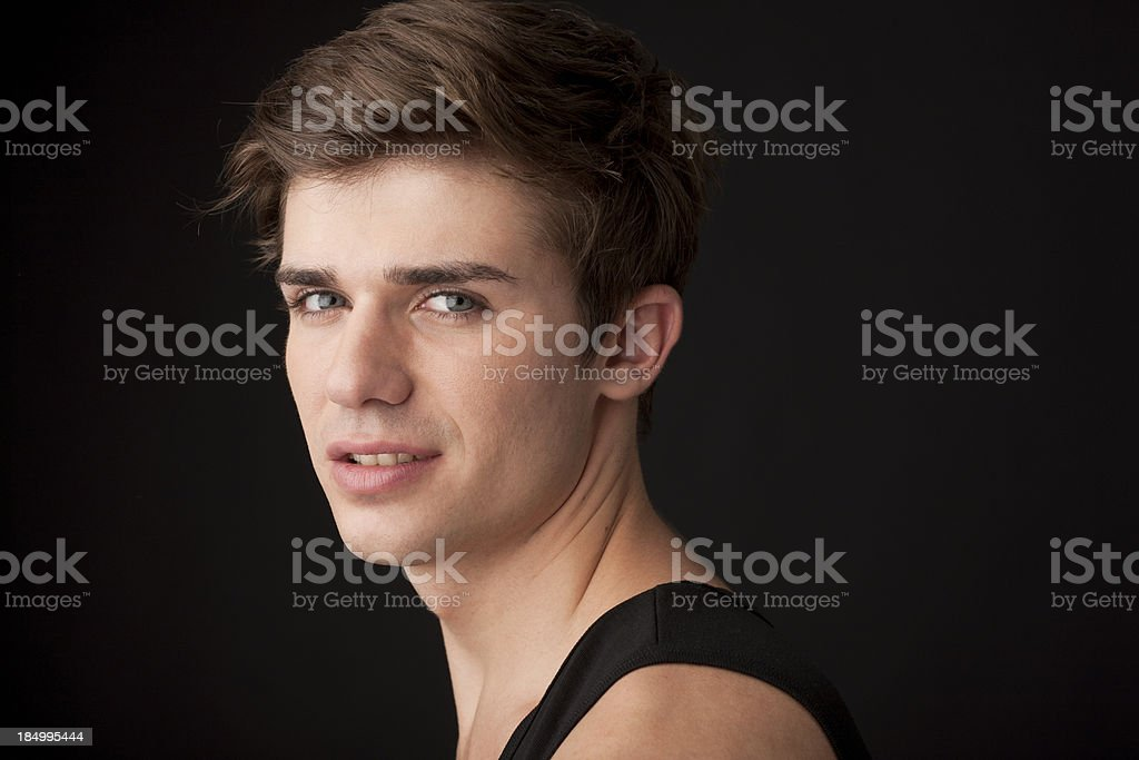 portrait of an young man royalty-free stock photo