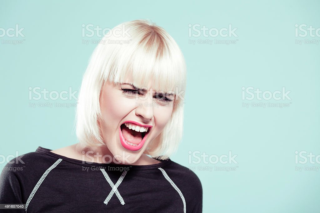 Angry Blonde